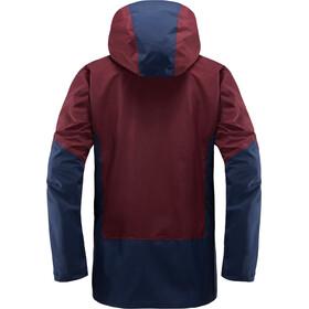 Haglöfs M's Nengal Jacket Aubergine/Tarn Blue